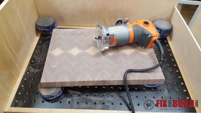 How to Make an End Grain Cutting Board-23