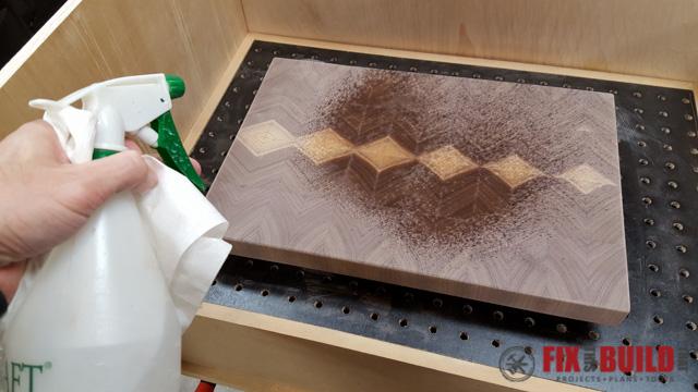 How to Make an End Grain Cutting Board-25
