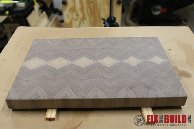 How to Make an End Grain Cutting Board-26