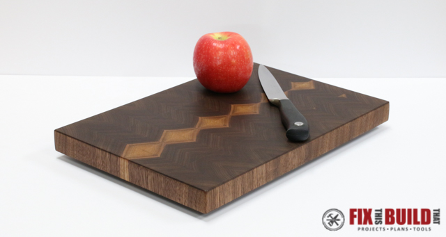 How to Make an End Grain Cutting Board-27