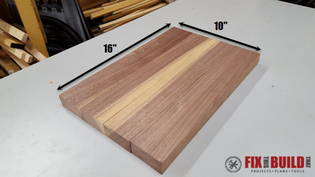 How to Make an End Grain Cutting Board-2t
