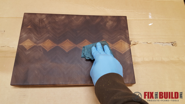 How to Make an End Grain Cutting Board-40