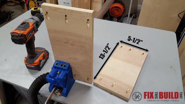 DIY Sideboard Cabinet-31t