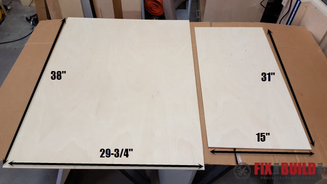 DIY Sideboard Cabinet-33t