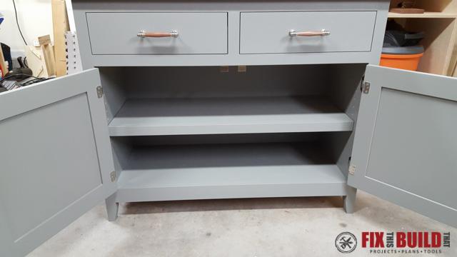 DIY Sideboard Cabinet-67