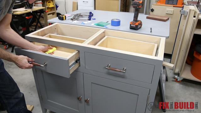 DIY Sideboard Cabinet-73