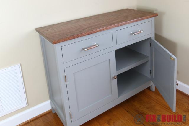 DIY Sideboard Cabinet Door