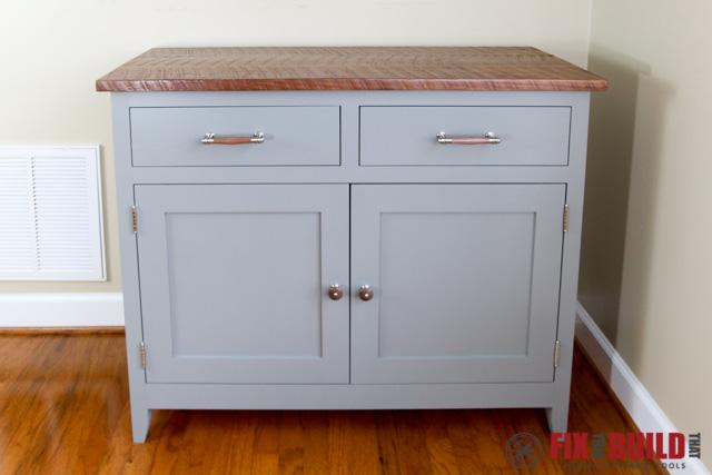 DIY Sideboard Cabinet Front