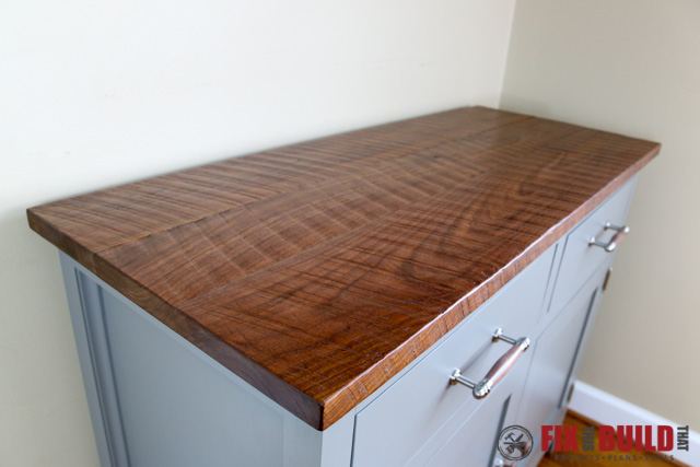 DIY Sideboard Cabinet Top