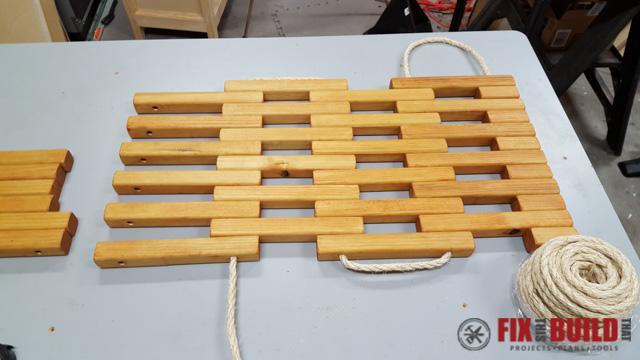 DIY Wooden Doormat-12