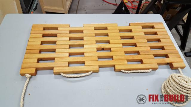 DIY Wooden Doormat-13