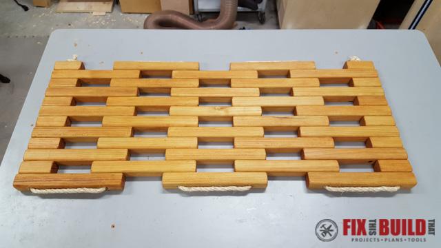 DIY Wooden Doormat-15