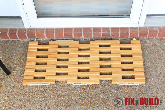 DIY Wooden Doormat-25