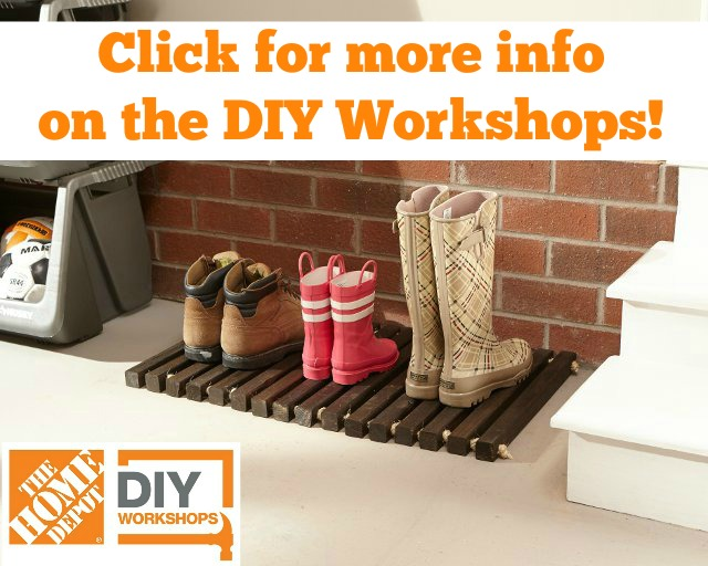 DIY Wooden Doormat DIY Workshop Registration