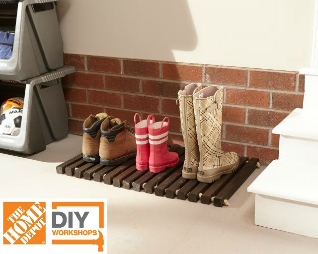 DIY Workshop: Build a Wooden Door Mat | FixThisBuildThat