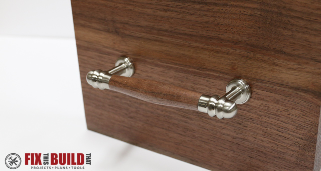 Make Custom Cabinet Pulls from a Kit