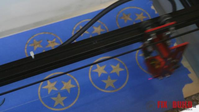 Custom Laser Wood Coaster Set-31