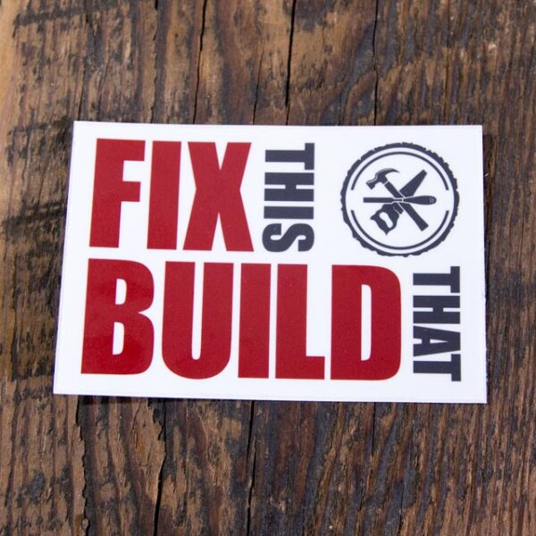 FTBT Logo Sticker