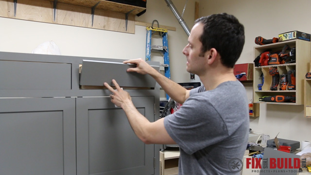 Quick Tip - Insetting Drawer Fronts