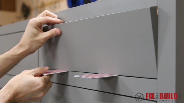 Quick Tip - Insetting Drawer Fronts 05-5