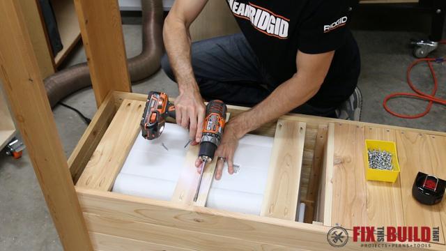 DIY Patio Cooler Grill Cart-29
