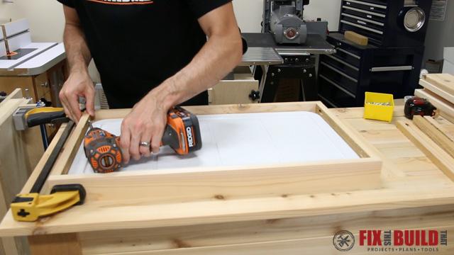 DIY Patio Cooler Grill Cart-36