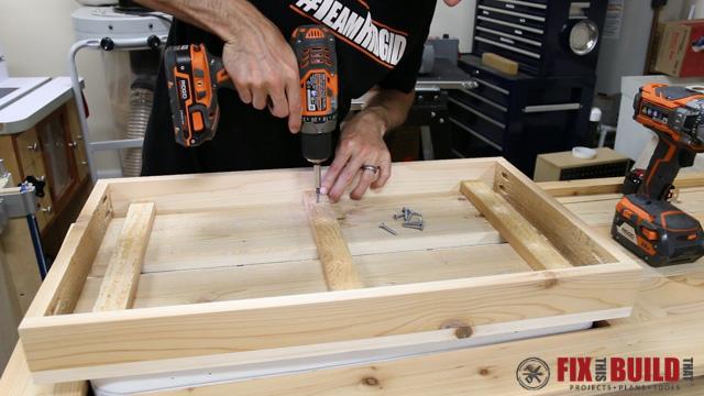 DIY Patio Cooler Grill Cart-39
