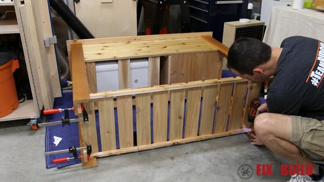 DIY Patio Cooler Grill Cart-48