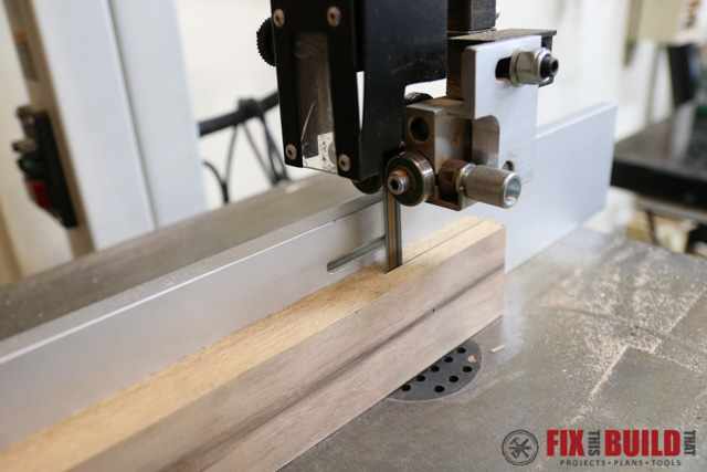 Using a Drum Sander to smooth resawed wood