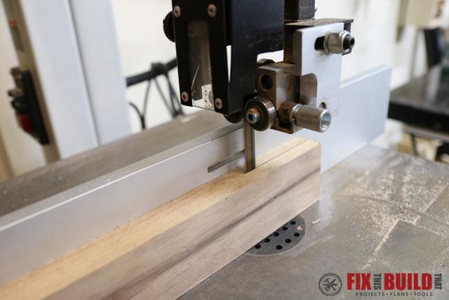 Using a Drum Sander to smooth resawed wood