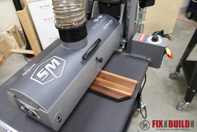 Using a Drum Sander on a cutting board