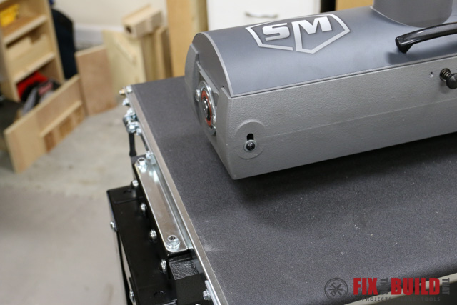 SuperMax 19-38 Conveyor Size