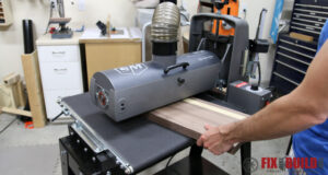 Using a Performax 19-38 Drum Sander