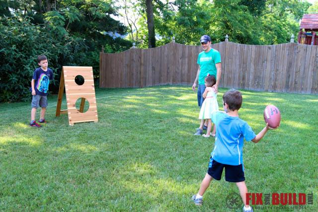 DIY Football Toss Game-102