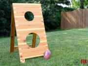 DIY Football Toss Game Plans