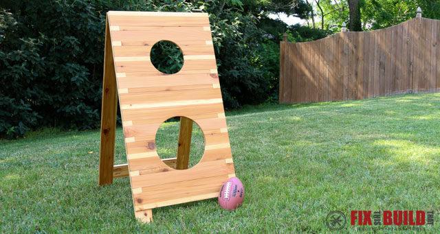 DIY Football Toss Game Plans