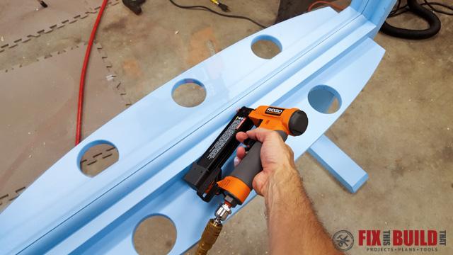 DIY Kids Outdoor Acrylic Easel-34