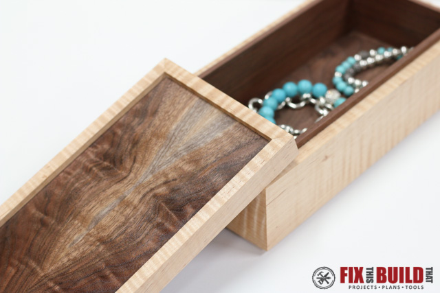 DIY Wooden Jewelry Box