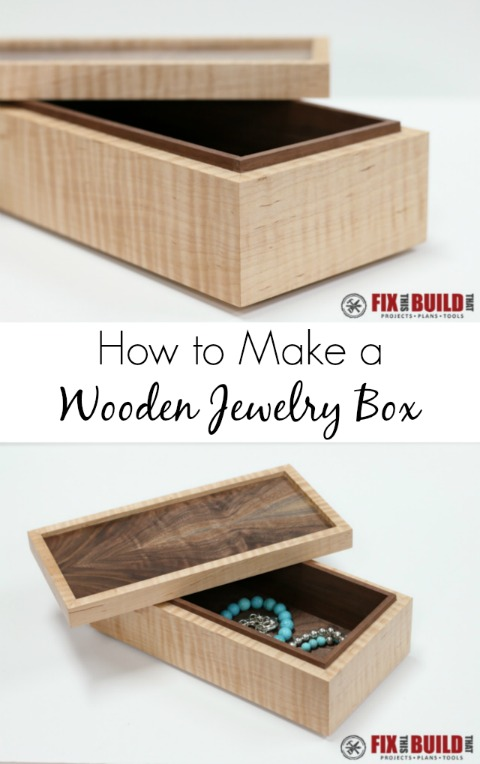 How to Make a Simple Wooden Jewerly Box
