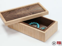 Simple Wooden Jewelry Box