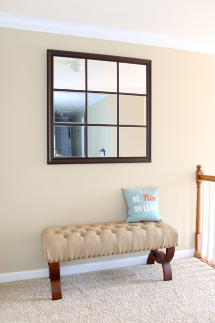 Make a DIY Window Pane Mirror | FixThisBuildThat