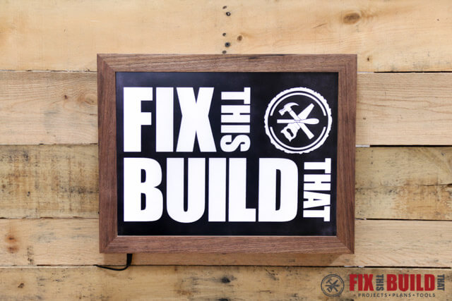 How to Make a DIY LED Sign | FixThisBuildThat