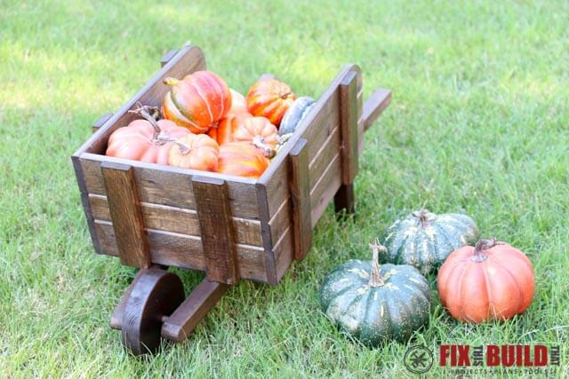 How to make a rustic wheelbarrow planter