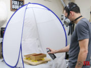 DIY Spray Booth Turntable