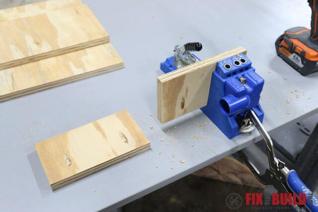 DIY Spray Booth Turntable-3