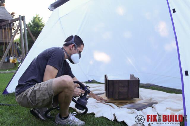 HomeRight Spray Shelter Spraying Finish