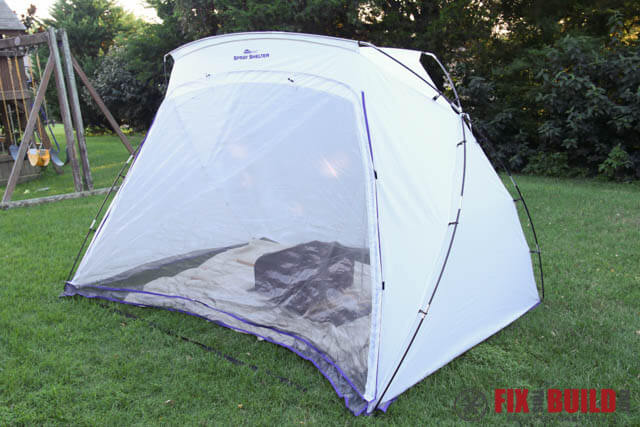 HomeRight Spray Shelter with Bug Screen