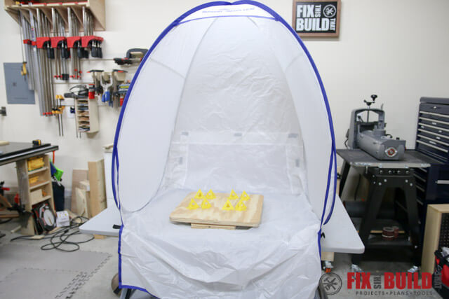 How To Make A Diy Spray Booth Turntable Fixthisbuildthat
