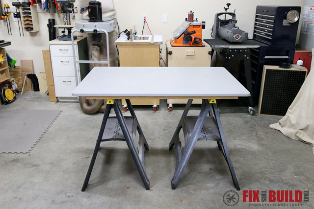 knock down assembly table
