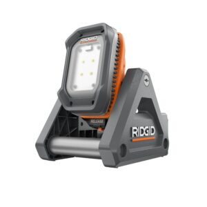 RIDGID 18v LED flood light